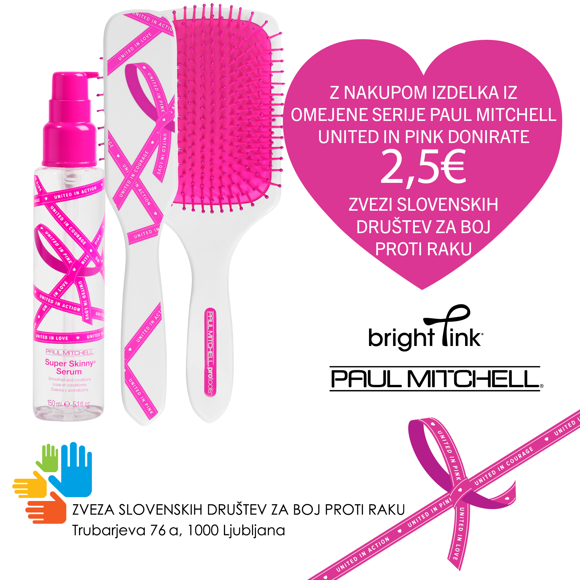Paul Mitchell United In Pink izdelki