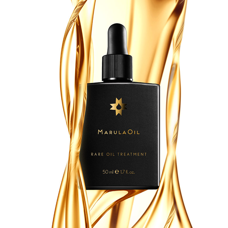 artistic image of the marulaoil rare treatment oil product