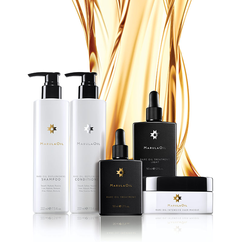 artistic image of the marulaoil product line